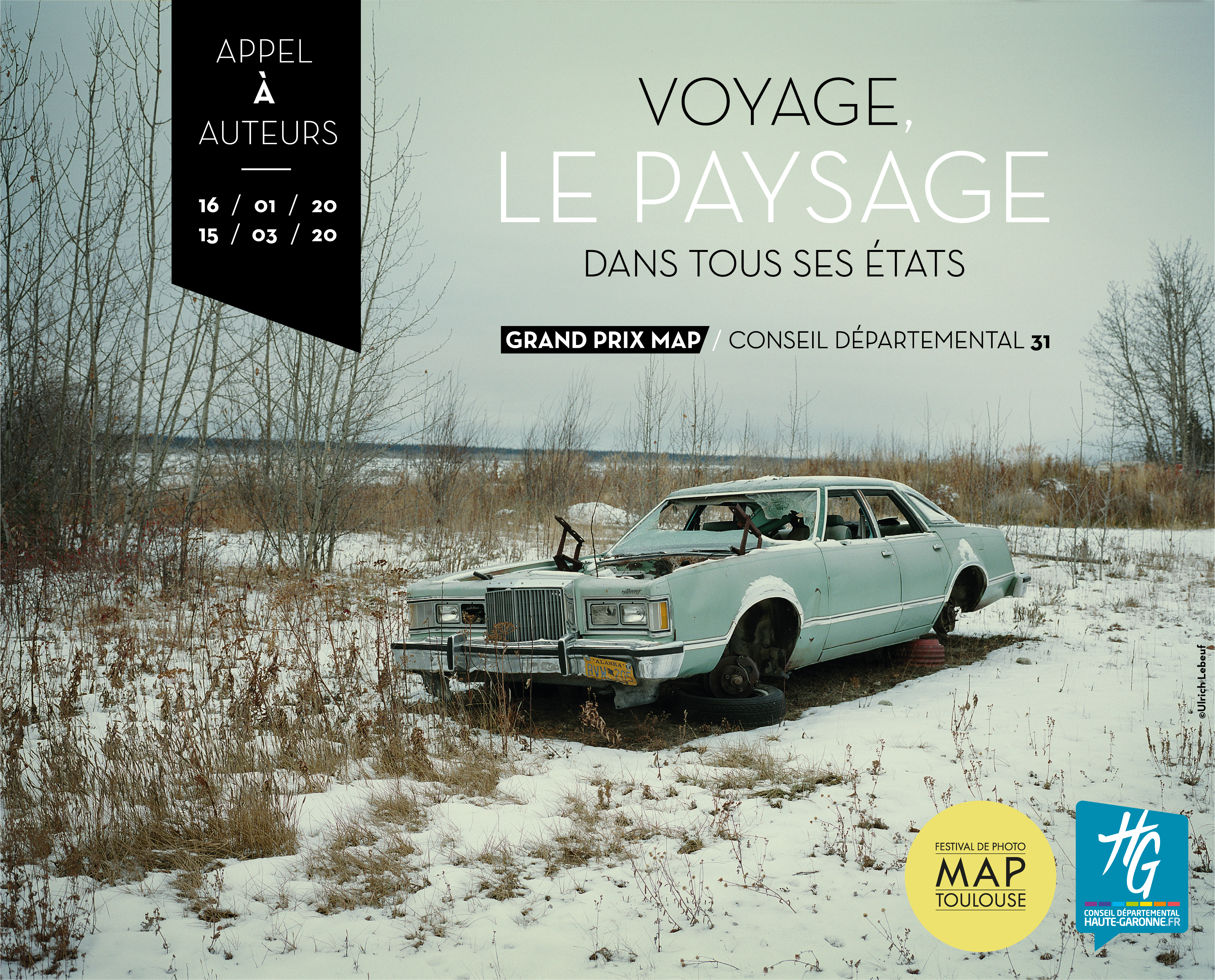 Festival de photo MAP Toulouse - Appel à auteurs - Voyage, le paysage dans tous ces états